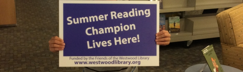 Summer Reading Winners! Banner Photo