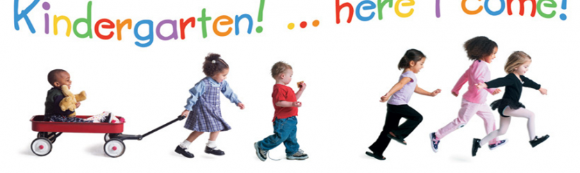 Transitioning to Kindergarten Banner Photo
