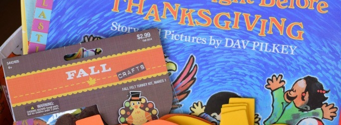 Gobble, Gobble, Gobble Books to Celebrate Thanksgiving! Banner Photo