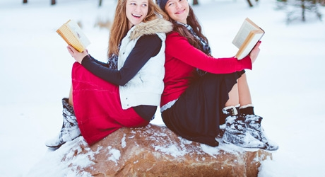 Winter Reads for Middle Grade and High School Teens Banner Photo